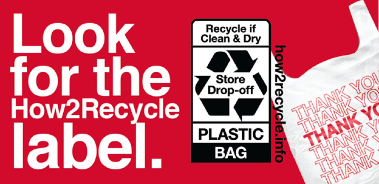 Look for the How2Recycle label