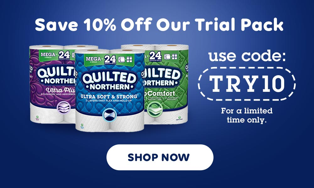 Save 10% off our Quilted Northern Trial Pack