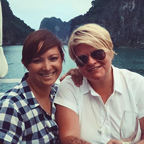 Pitmasters LeAnn Mueller and Alison Clem Bio picture