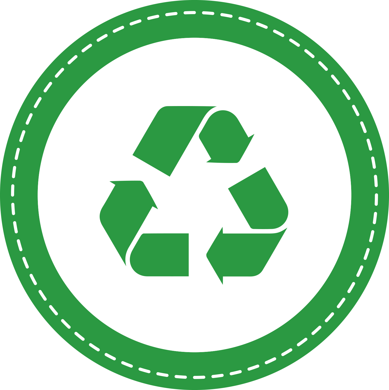 QN recycleable packaging icon